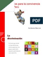 Desafios Para La Convivencia en El Peru