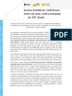 Release Consumo de Jovens Estilo de Vida e Tecnologia