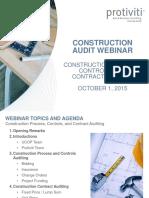 Construction Audit