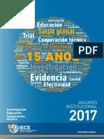 Anuario Institucional IECS Argentina - 2017 (castellano)
