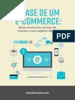 A Base de Um E-commerce