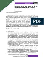 8. Studi Kasus Kejadian Diare Pada Anak Balita Di Wilayah Kerja Puskesmas Bayanan Tahun 2015