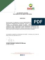4.7. Certificado No Fuentes Diferentes SGR