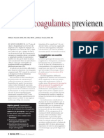 Anticoagulantes NURSING 2012