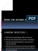 (1) Drugs for Seizure Disorder