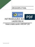 Intro-Lab05a - Acesso a Dados Com ADO.net - C#