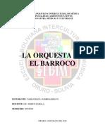 Orquestas barrocas