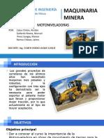 MAQUINARIA MINERA-Motoniveladoras