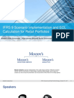 Ifrs9 Scenario Implementation and Ecl Calculation for Retail Portfolios Presentation Slides