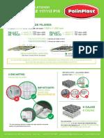 Instructivo Paletizado Caja 117113mm P16