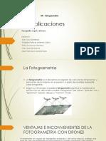 5.6 Aplicaciones de Fotogrametría