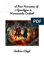 Jesus and Four Horsemen of the Apocalypse in Hermeneutic Context