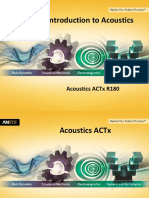Ansys 19.0 Acoustics ACT - Introduction to Acoustics