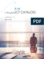 SAG Product Catalog WebMethods Edition 2017