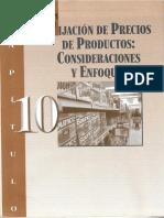 Cap. 10- Fij. de Precios de Productos-Consideraciones y Enfoques