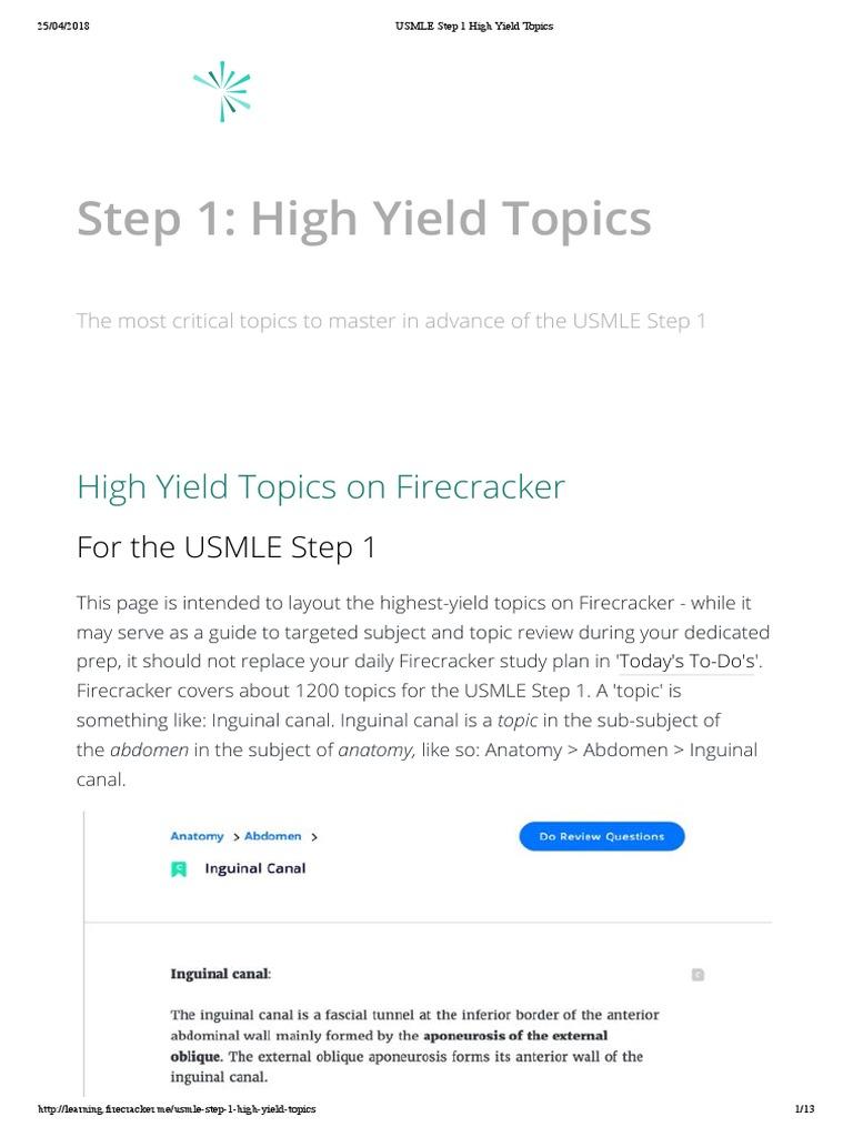 USMLE Step 1 High Yield Topics.pdf