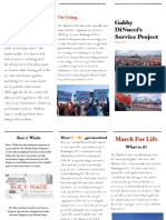 march for life service project religion 10