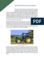 Dónde Encontar Repuestos Para Tractores John Deere