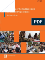 Stakeholder Consultations in Investment Operations