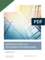 Modulo 1 Introducción a La Fiscalidad Internacional