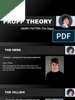 propp theory  harry potter