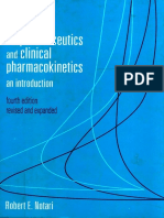 Bioparmaceutics and Clinical Pharmacokinetics an Introduction (1)