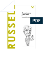 Broncano Fernando - Descubrir La Filosofia 35 - Russell - Conocimiento Y Felicidad