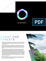 Chant and Forests Dash