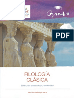 folleto grado filología clásica2018