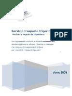 Nozioni Regole Trasporto Frigorifero