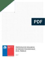 Protocolo Psicosociales 2017