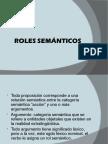 ROLES SEMÁNTICOS