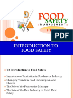 Chapter 1 - Introduction to Food Safety