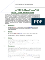 QuadFoam 500 - Installation Guide - June 2014