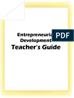 Entrepreneurial Career and Development