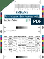 Aulas particulares Matemática - Pré Impressão