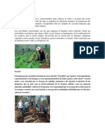 Agricultura, Forestal, Ganaderia, Pesca, Industria