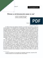 Roig Arturo Andres - Pensar la   mundializacion desde el sur. Conf.Ecuador 2002.pdf