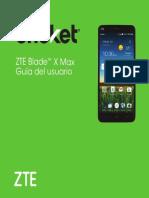 Zte Blade x Max User Guide Es