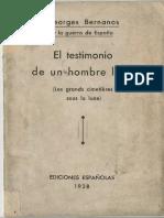 Georges Bernanos_1888-1948_testimonio de Un Hombre Libre_1937_fac-Gef