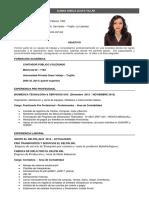 Alaya Villar CV