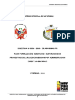Version Febrero Directiva de Formulacion Ejec y Supervision-2009