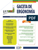 Gaceta Ergonomia Volumen Especial 1