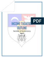 Income Tax Outline Final