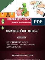 Operaciones Activas Pasivas y Neutras