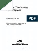 Collins Randall - Cuatro Tradiciones Sociologicas