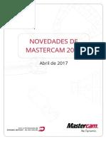 Novedades mastercam 2018