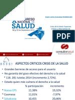Presentacion Congreso Nacional de Salud Consultorsalud