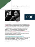 5 Lecciones de Martin Luther King Para Ser Un Líder Transformador