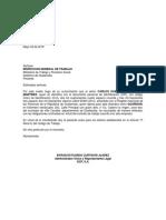 Carta Inspeccion de Trabajo Don Carlos